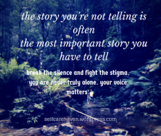 The Most Important Story You Have to tell