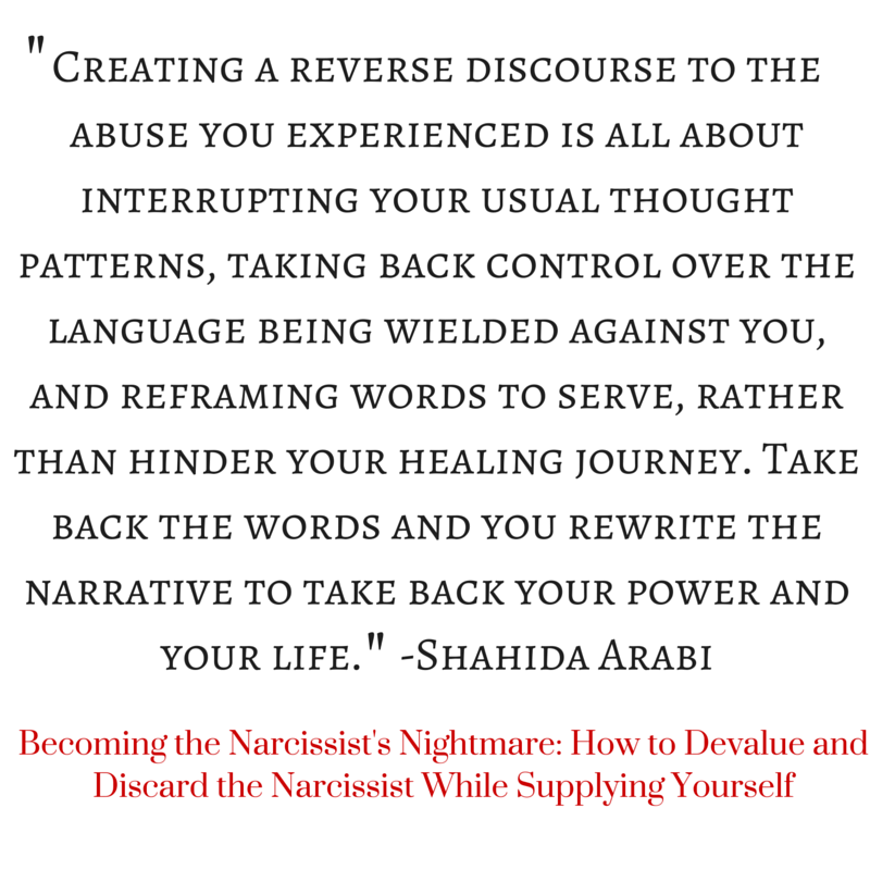 Narcissist devalue