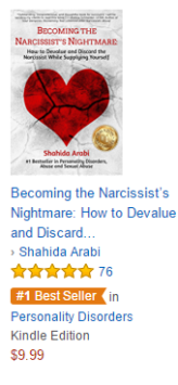 Shahida Arabi Becoming the Narcissist's Nightmare